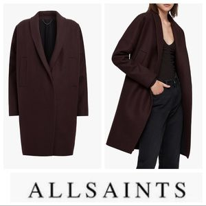 Allsaints Layton Wool Coat M